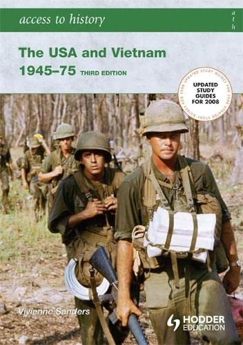 9780340929308: The USA & Vietnam 1945-75 (Access to History)