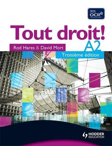 Tout Droit! A2 Third Edition: Mort, David and