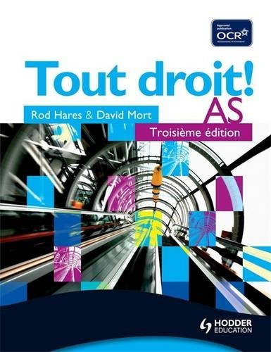 9780340929827: Tout Droit, Student's Book: Troisieme Edition (English and French Edition)