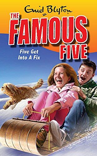 Five Get Into A Fix: Book 17: Enid Blyton