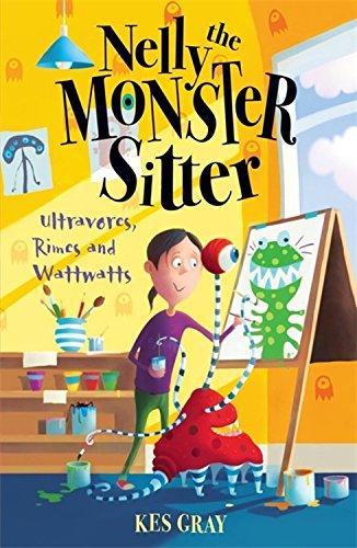 9780340931929: Ultravores, Rimes & Wattwattsno. 5 (Nelly the Monster Sitter)
