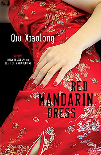 Red Mandarin Dress (0340935170) by Xiaolong, Qiu