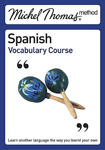 9780340939734: Michel Thomas Method: Spanish Vocabulary Course (Michel Thomas Series)