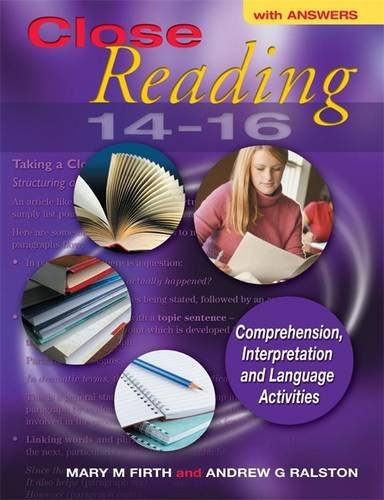 9780340940150: Close Reading 14-16: Comprehension, Interpretation and Language Activities: With Answers