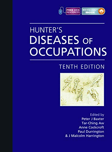 9780340941669: Hunter's Diseases of Occupations, Tenth Edition