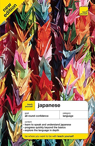 9780340941737: Teach Yourself Japanese 6th Edition Book (Teach Yourself Complete Courses)