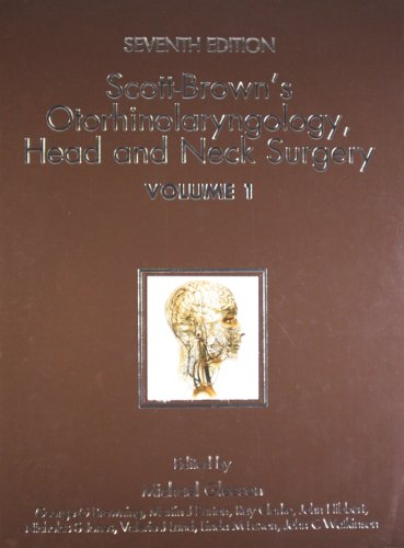 9780340941898: Scottbrowns Otorhinolaryngology Head & N