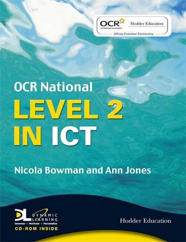 ocr national ict coursework Ocr cambridge nationals ict qualification information including specification, exam materials, teaching resources, learning resources.