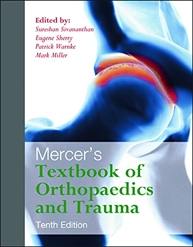 9780340942031: Mercer's Textbook of Orthopaedics and Trauma Tenth edition