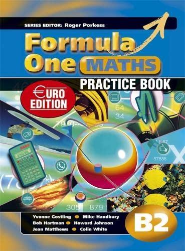 9780340942543: Formula One Maths B2 Practice Book