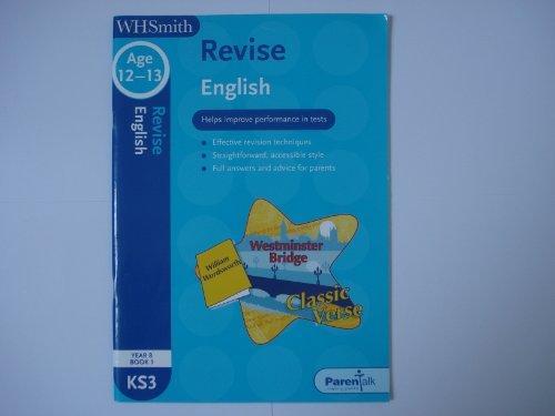 9780340942987: WHS Revise KS3 English: Year 8