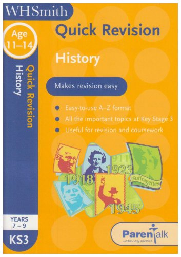 Quick Revision History (0340943092) by Martin, Dave