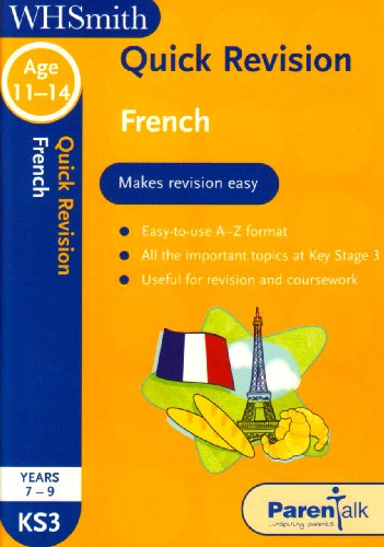 9780340943113: Quick Revision KS3 French