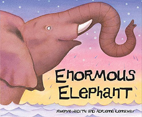 9780340945216: Enormous Elephant (African Animal Tales)