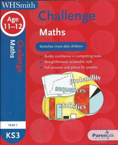 9780340945544: WHS Challenge KS3 Maths: Year 7