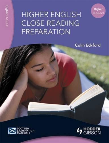 9780340946275: Higher English: Close Reading Preparation (SEM)