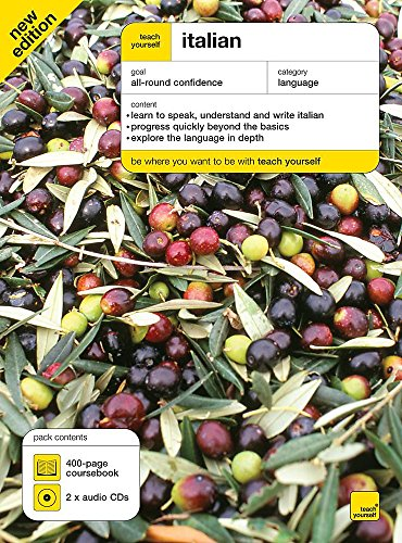Teach Yourself Italian Book + CD pack: Elston, Maurice