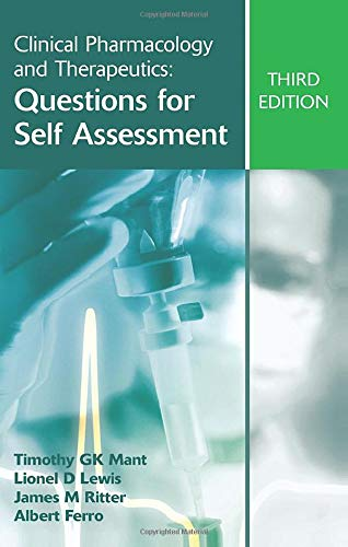 9780340947432: Clinical Pharmacology and Therapeutics: Questions for Self Assessment, Third edition (A Hodder Arnold Publication)