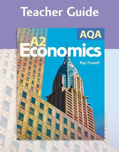9780340947531: AQA A2 Economics Teacher Guide (Gcse Photocopiable Teacher Resource Packs)