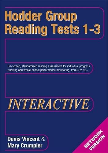 9780340947722: Hodder Group Reading Tests Interactive (HGRTi) 1-3 Network CD-ROM: Interactive (Network) CD-ROM Tests 1-3