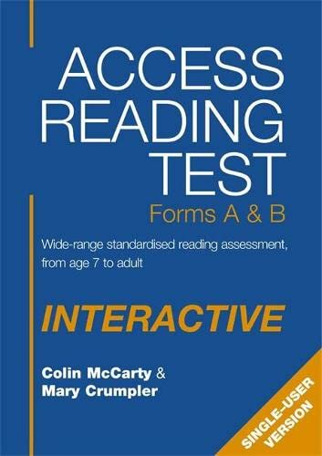 9780340947760: Access Reading Test - Interactive Singl