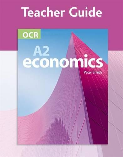 9780340948101: OCR A2 Economics Teacher Guide (+CD): Teacher Answer Guide (Gcse Photocopiable Teacher Resource Packs)