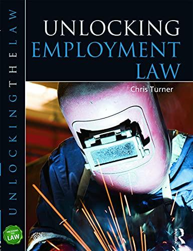 9780340948330: Unlocking Employment Law (Unlocking the Law)