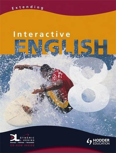 9780340948910: Interactive English Year 8 Extending Pupil's Book