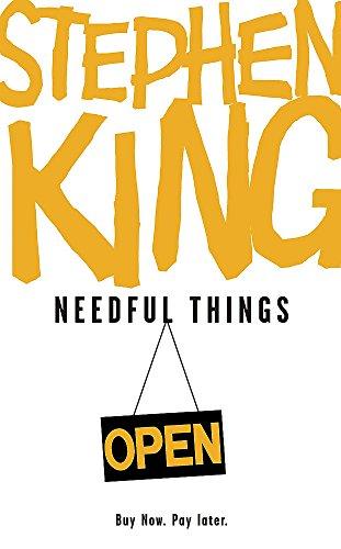 9780340952764: Needful Things