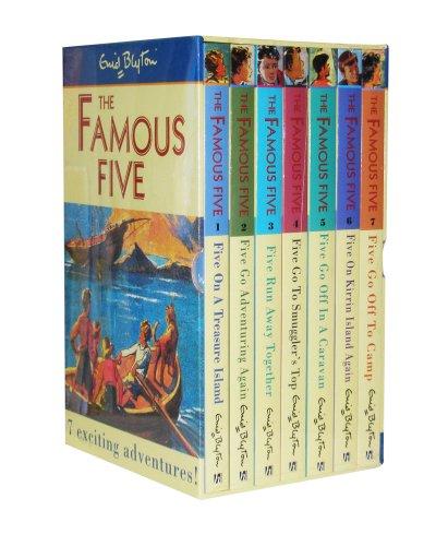 9780340956892: Famous Five Slipcase 1-7