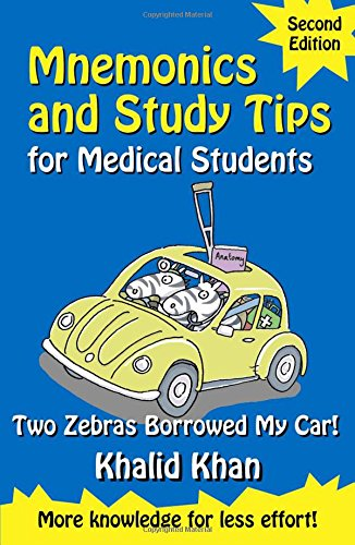9780340957479: Mnemonics and Study Tips for Medical Students, Second Edition: Two Zebras Borrowed My Car (A Hodder Arnold Publication)