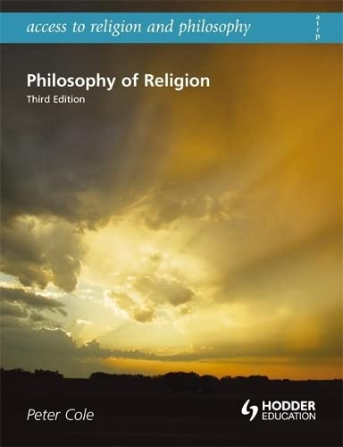 9780340957783: Philosophy of Religion (Access to Religion & Philosophy)