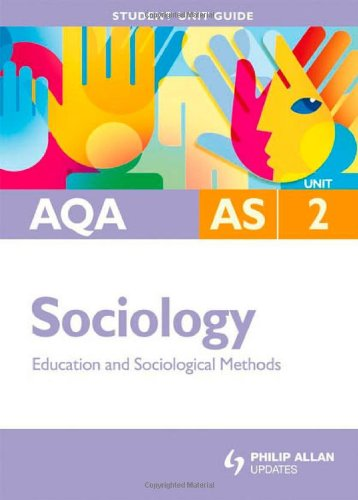 9780340958063: AQA AS Sociology Student Unit Guide: Unit 2 Education and Sociological Methods: Education and Sociolgical Methods (Student Unit Guides)
