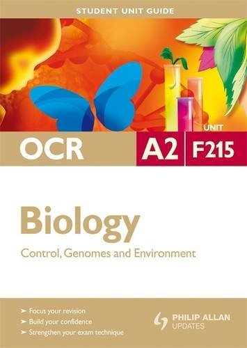 9780340958148: OCR A2 Biology Student Unit Guide: Unit F215 Control, Genomes and Environment (Student Unit Guides)