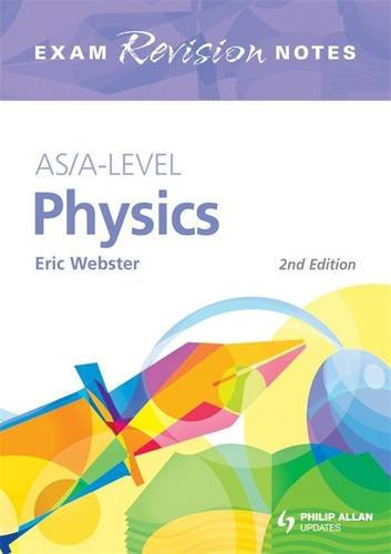 9780340958612: AS/A-Level Physics Exam Revision Notes 2nd Edition (Exams Revision Notes)