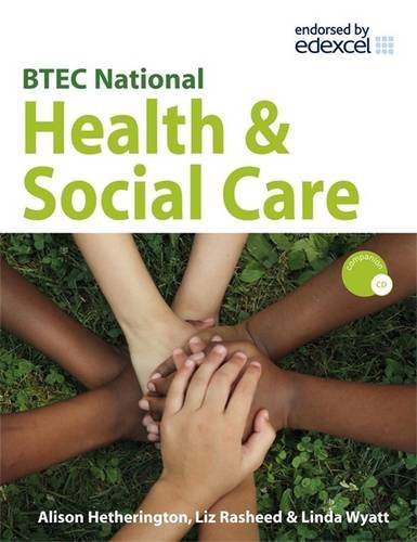 9780340958629: BTEC National Health & Social Care: Level 3