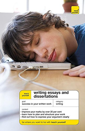 9780340958780: Teach Yourself Writing Essays and Dissertations