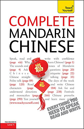 9780340958933: Complete Mandarin Chinese Beginner to Intermediate Book and Audio Course: Learn to Read, Write, Speak and Understand a New Language with Teach Yourself