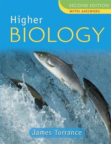 Higher Biology Second Edition With Answers: Clare Marsh, James