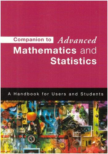 9780340959237: Companion to Advanced Mathematics & Statistics