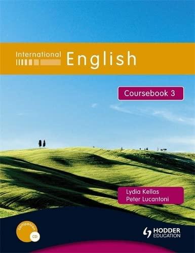 9780340959435: International English Coursebook 3: Coursebook Bk. 3