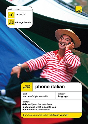 9780340965054: Phone Italian: Teach Yourself Audio CD & 48 page Booklet (Compatible with iPod & MP3 players)