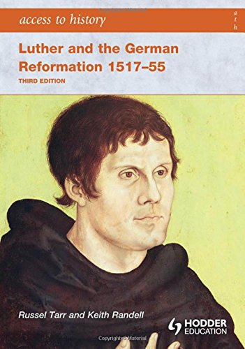 9780340965917: Access to History Luther and the German Reformation 1517-55