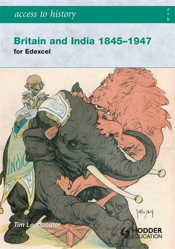 9780340965979: Access to History: Britain and India 1845-1947
