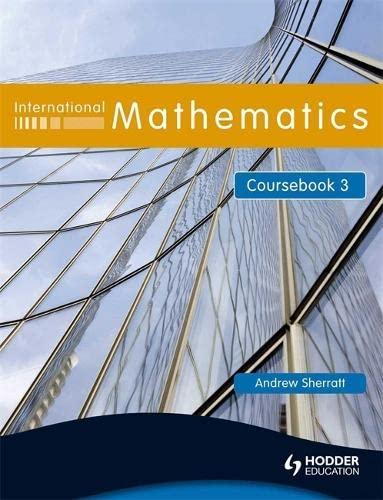9780340967447: International Mathematics Coursebook (Bk. 3)