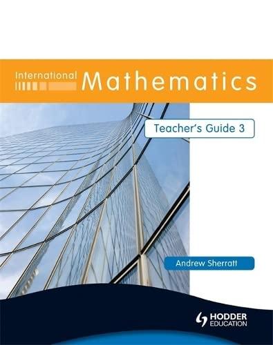 9780340967478: International Mathematics Teacher's Guide 3 (Bk. 3)