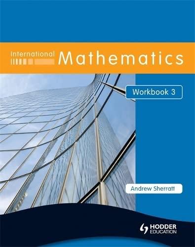 9780340967508: International Mathematics Workbook 3 (Bk. 3)
