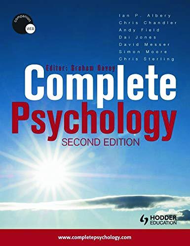9780340967553: Complete Psychology (Volume 1)
