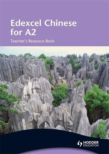 9780340967836: Edexcel Chinese for A2: Teacher's Resource Book