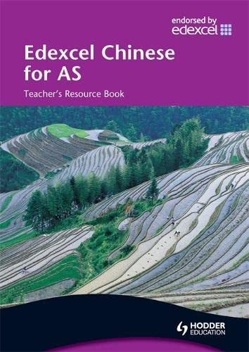 9780340967867: Edexcel Chinese for As, Teacher's Resource Book (Chinese Edition)